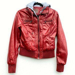 BB Winter by BB Dakota Small Jacket Faux Leather